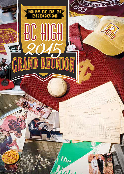 BC High Grand Reunion Invitation