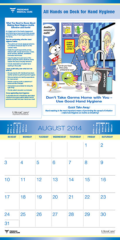 Fresenius Medical Care Calendar