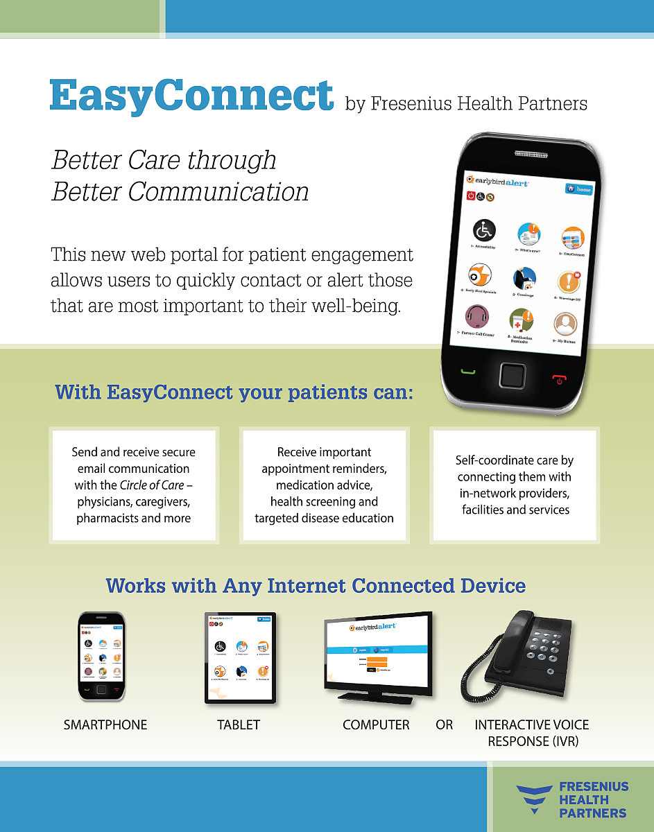 Fresenius Easy Connect Ad