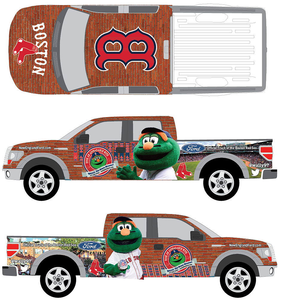 Wally the Green Monster Truck